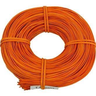 peddigrohr orange 1,5mm ringe 0,10kg